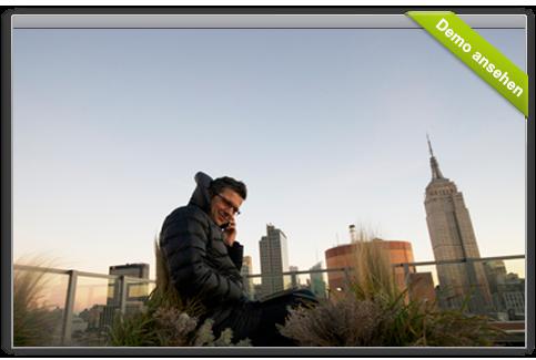 mit der igumbi Hotelsoftware iPhone App Reservierungen unterwegs annehmen, Angebote und Reservierungsbestätigungen verschicken.