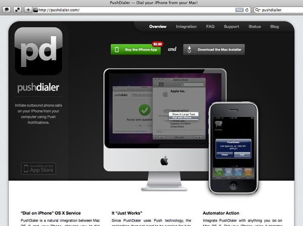 Pushdialer - aus dem Browser eine Telefonnummer wählen