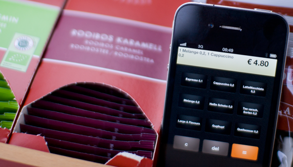 kassemobile Mobile HTML5 iPhone App für die Mobile Rechnung