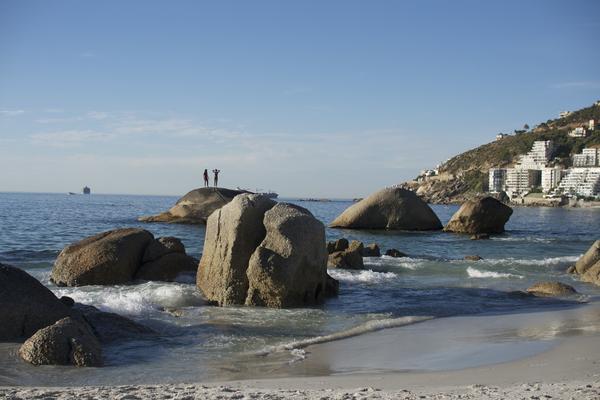 Clifton 4th Beach- die Granit Felsen, Kapstadt
