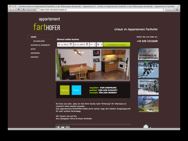 Apartment Farthofer in Schwaz Tirol, kleiner aber innovativer igumbi Kunde